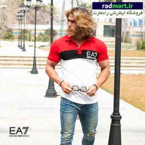 پولوشرت مردانه EA7 مدل T8989