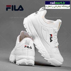 کفش زنانه Fila مدل V1169 (تمام سفید)