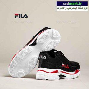 کفش زنانه Fila مدل V9350 (مشکی قرمز)